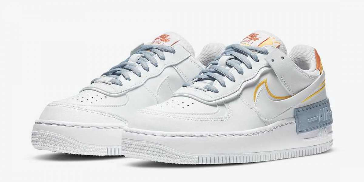 "Hot Sale Nike Air Force 1 Shadow ""Be Kind"" Online DC2199-100"