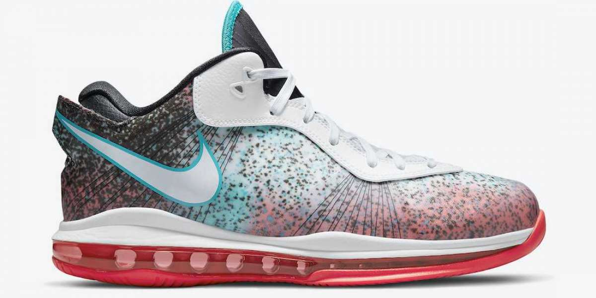 """New Nike LeBron 8 Low """"Miami Nights"""" Sneakers For Sale"""