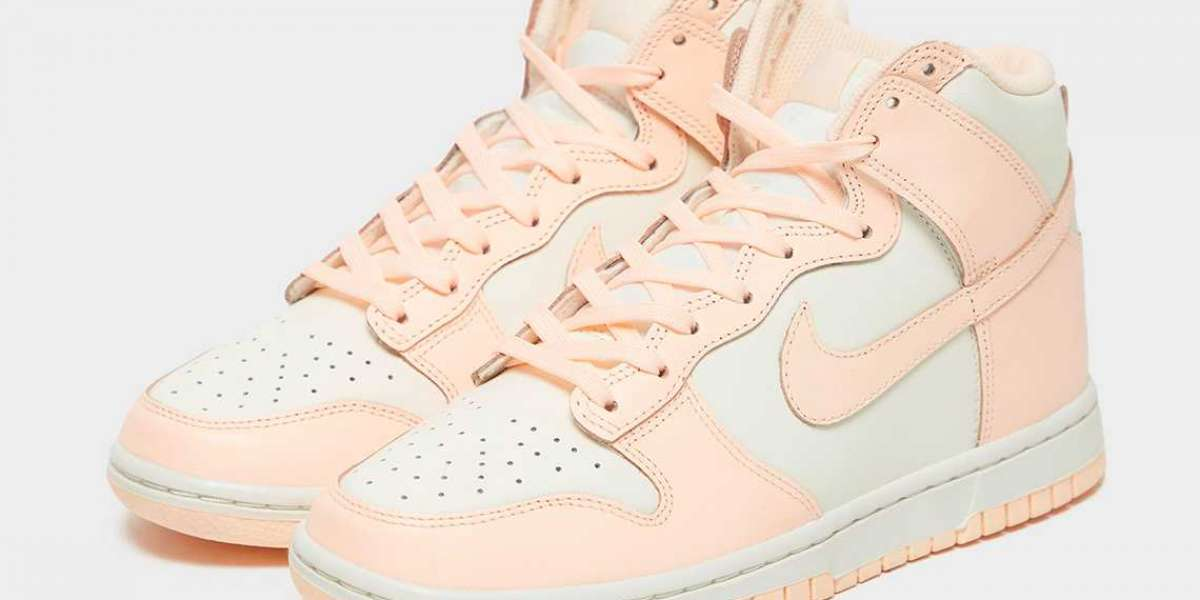 """Best Selling Nike Dunk High WMNS """"Crimson Tint"""" Sneakers"""